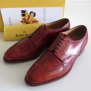 JOHN LOBB Darby museum calf shoes 9 E 10 US $1500